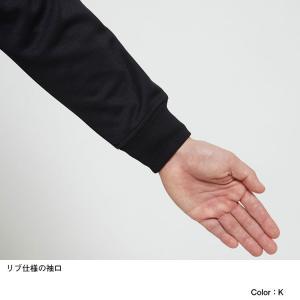 ノースフェイス(THE NORTH FACE ) お取り寄せ商品 ジャージ ジャケット メンズ NT12050 K Jersey Jacket ニット 静電 ストレッチ(nt12050-k)|fukuspo|07