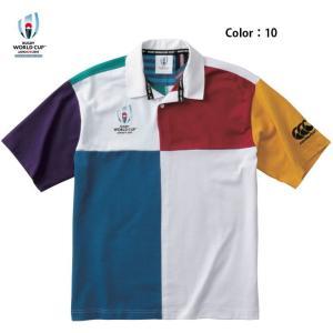 カンタベリー (CANTERBURY) ラグビー ワールドカップ2019 ショートスリーブ ハーレクイーンジャージ VWD39114(vwd39114) fukuspo 02