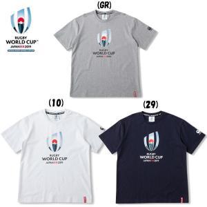 カンタベリー (CANTERBURY) メール便送料無料 RWC2019 ラグビーワールドカップ 2019 ティー VWD39400 半袖 Tシャツ(vwd39400)|fukuspo