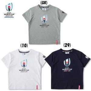 カンタベリー (CANTERBURY) メール便送料無料 ラグビーワールドカップ 2019 RWC2019 KIDS ティー VWD39402K キッズ 半袖 Tシャツ(vwd39402k)|fukuspo