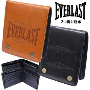 折り財布 型押し シンプル オシャレ 財布 EVERLAST エバーラスト