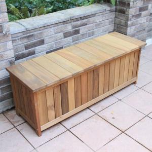 木製収納ベンチ キャビネットベンチ マレーシア産アカシア材|fukusyou-garden