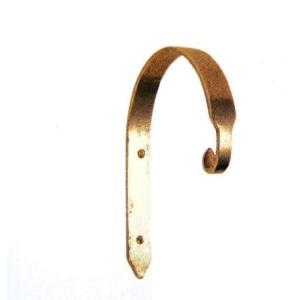 ゴーリキアイランド社 真鍮製のおしゃれなガーデン・フック 【Gフック PL BS】真鍮磨き仕上げ|fukusyou-garden