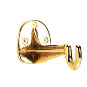 ゴーリキアイランド社 真鍮製のおしゃれなガーデン・フック 【ブラケット 3】真鍮磨き仕上げ|fukusyou-garden
