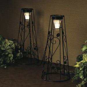 LED ソーラークローズゲート(コーン) 駐車場やアプローチなど進入してほしくない場所におしゃれなコーン!|fukusyou-garden