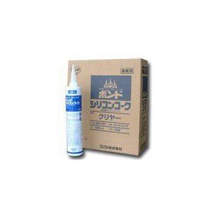 コニシボンド シリコンコーク カートリッジ 330ml 10本入り <送料無料> fukusyou-garden