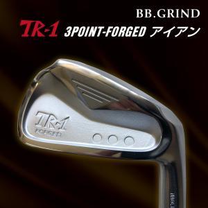 [工房直送!]TR-1 3POINT FORGEDアイアン (5-P 6本セット) DG/NS スチールシャフト仕様|fukuyamagolf