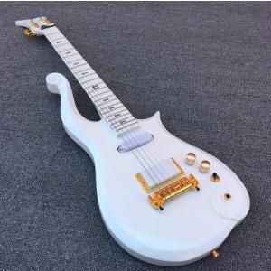 プリンス クラウドギター スタイル エレキギター [ケース付] ハムバッカー & シングルコイル メ...
