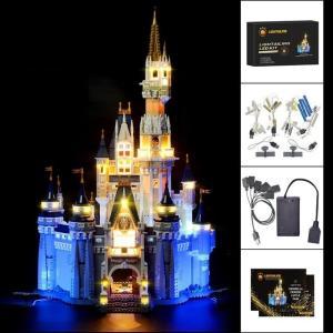 レゴ 71040 アップグレードLEDライトキット+バッテリーボックス プリンセス シンデレラ城 ライトアップセット クリスマス プレゼント|fulfilldream