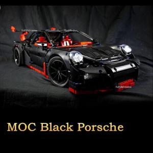 レゴ ブラックポルシェ911 GT3 RS 互換品 テクニック クリスマス プレゼント 42056|fulfilldream