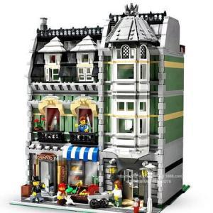 レゴ 互換品 10185 クリエイター グリーングローサー ミニフィグ付 クリスマス プレゼント|fulfilldream