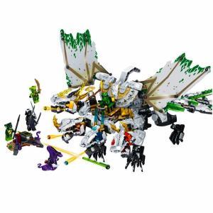 レゴ 互換品 ニンジャゴー 究極のウルトラ・ドラゴン アルティメルス