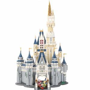 レゴ 互換品 ディズニー プリンセスシンデレラ城 クリスマス プレゼント|fulfilldream