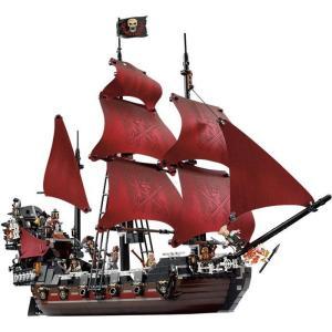 レゴ パイレーツオブカリビアン アン女王の復讐号 互換品 4195 クリスマス プレゼント|fulfilldream