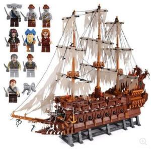 レゴ 互換品 フライングダッチマン号 海賊幽霊船 MOC パイレーツオブカリビアン クリスマス プレゼント|fulfilldream