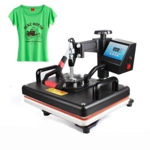 Tシャツ熱転写プレス機 デジタルスイング 熱転写 Tシャツ 印刷 DIY Tシャツプリンター 12 ...