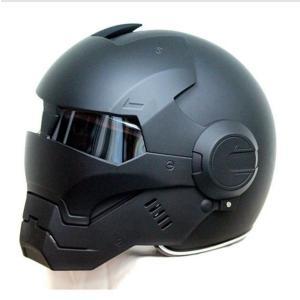 フルフェイス バイク ヘルメット アイアンマンタイプ 海外ブランド 高品質 ヘルメット