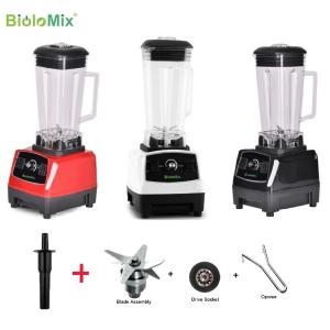 Biolomix G5200 2200W 2L +替刃+アクセサリ 高性能 ハイパワー ミキサー ジ...