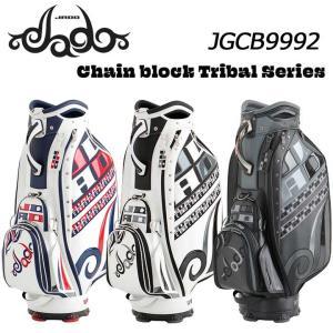 ジャド JGCB9992 Chain block Tribal シリーズ キャディバッグ 9.5型 4.5kg JADO 2020 full-shot