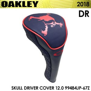 オークリー 99484JP スカル ドライバーカバー 12.0 ヘッドカバー ピーコート 67Z 2018 数量限定/特別価格 即納|full-shot