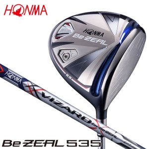 HONMA Be ZEAL 535  【ヘッド素材/製法】 Ti811軽比重チタン / 鋳造   【...