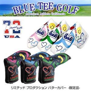 ブルーティーゴルフ リミテッド プロダクション ピン型 パターカバー ヘッドカバー BLUE TEE GOLF