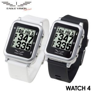 イーグルビジョン ウォッチ4 EV-717  Type W 腕時計タイプ GPS小型距離計測器 EAGLE VISION WATCH4 tpup 朝日ゴルフ 数量限定/特別価格 送料無料 即納|full-shot