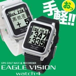 イーグルビジョン ウォッチ4 EV-717  Type W 腕時計タイプ GPS小型距離計測器 EAGLE VISION WATCH4 tpup 朝日ゴルフ|full-shot
