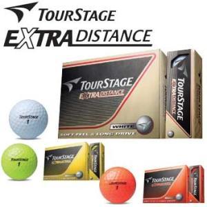 ブリヂストン ツアーステージ エクストラ ディスタンス ゴルフボール 1ダース(12球入) TOUR STAGE EXTRA DISTANCE 2014