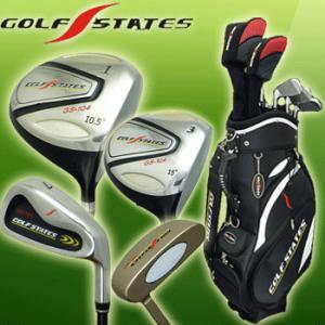 GOLFSTATES /ゴルフステーツ/ GS-104 /クラブフルセット (キャディバッグ付) 13本セット|full-shot