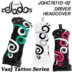 ジャド JGHC7871D-02 Vast Tattoo シリーズ ドライバー用 ヘッドカバー Vast Tattoo JADO 2018|full-shot