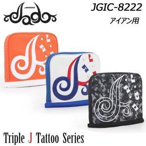 ジャド JGIC-8222 Triple J Tattooシリーズ アイアン用 ヘッドカバー JADO Iron Headcover 2019 full-shot