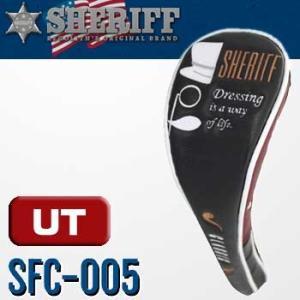 シェリフ SFC-005 ヘッドカバー ユーティリティ用 クラックシリーズ SHERIFF CLASSIC SERIES|full-shot