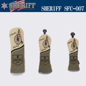 シェリフ クラシック ヘッドカバー SFC-007 SHERIFF 2017|full-shot