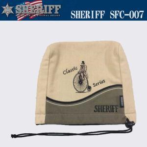 シェリフ クラシック ヘッドカバー アイアン用 SFC-007 SHERIFF 2017|full-shot