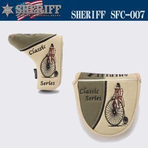 シェリフ クラシック ヘッドカバー パター用 SFC-007 SHERIFF 2017|full-shot
