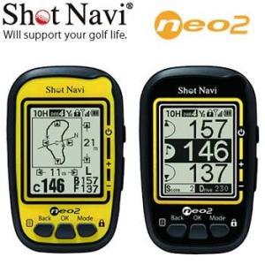 ショットナビ ポケット ネオ2 GPS機能付 距離計測器 ゴルフナビ Shot Navi POKET neo2