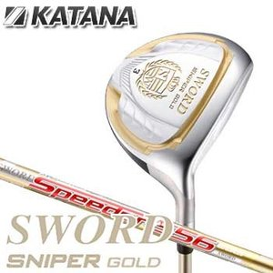 KATANA SWORD SNIPER GOLD  【ヘッド素材】 17-4 ステンレス