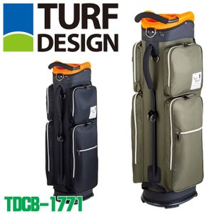 ターフデザイン TDCB-1771 キャディバッグ 2.5kg 47インチ対応 TURF DESIGN 2018|full-shot