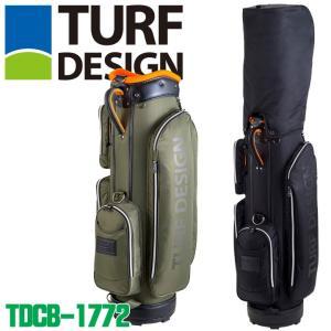 ターフデザイン TDCB-1772 キャディバッグ 3.3kg 47インチ対応 TURF DESIGN 2018|full-shot
