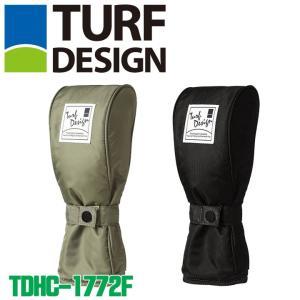 ターフデザイン TDHC-1772F フェアウェイウッド用 ヘッドカバー TURF DESIGN 2018|full-shot