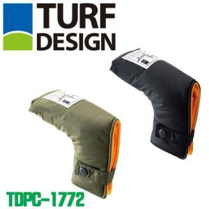 ターフデザイン TDPC-1772 パターカバー用 ヘッドカバー TURF DESIGN 2018|full-shot