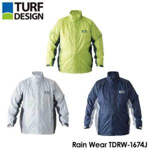 ターフデザイン レインジャケットTDRW-1674J tpup|full-shot
