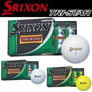 ダンロップ スリクソン トライスター ゴルフ ボール 1ダース(12球入り) TRI-STAR 日本正規品 2014