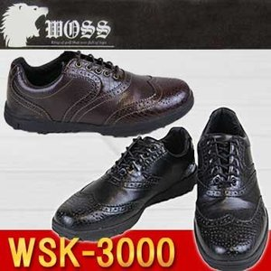 WOSS(ウォズ) WSK-3000 スパイクレス ゴルフシューズ ウイングチップ