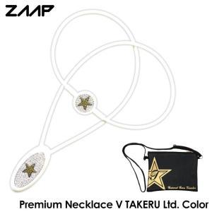 ZAAP ザップ プレミアムネックレス-V 武尊 Lサイズ 3階級制覇限定カラーモデル+ノベルティー...