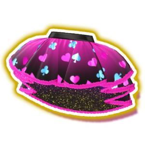 プリパラ/【マイチケ】★3-011 ガァルマゲドンピンクハートスカート PR|fullahead