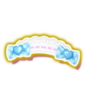 プリパラ/【マイチケ】★5-039 ウエルカムギンガムヘアアクセ R|fullahead