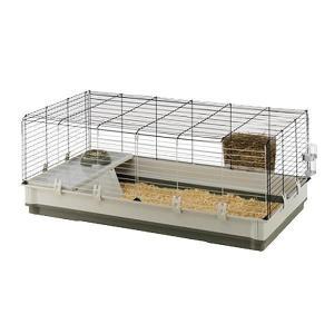 【送料無料】ferplast(ファープラスト) ウサギ用ケージセット クロリック エクストララージ レッド・57071570(北海道・沖縄・離島は別料金)
