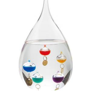 【送料無料】茶谷産業 Fun Science ファンサイエンス ガラスフロート温度計 しずくL 333-204(北海道・沖縄・離島は別料金)|fullcolor-print